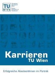 Karriere an der TU Wien - IAP/TU Wien - Technische Universität Wien
