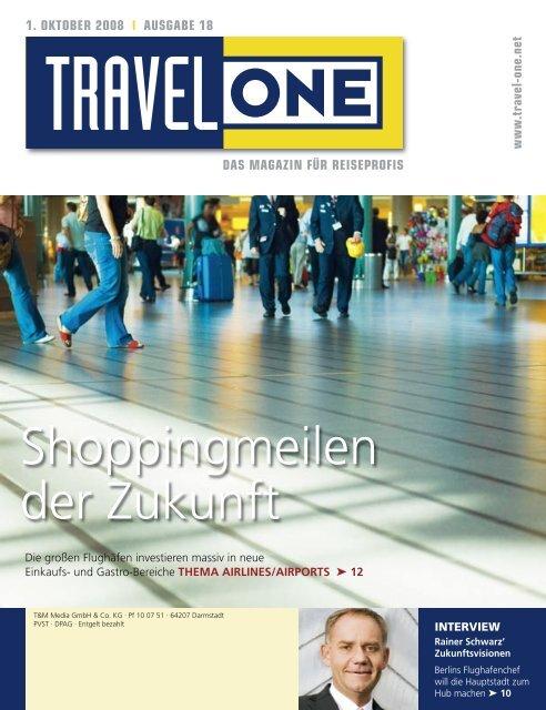Shoppingmeilen der Zukunft - Travel-One