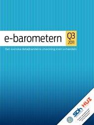 e-barometern Q3 2011 - Posten