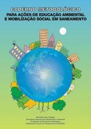 Caderno metodológico para ações de educação ambiental e - Conder