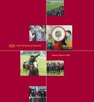 Irish Horseracing Authority Annual Report 2000 - Horse Racing Ireland