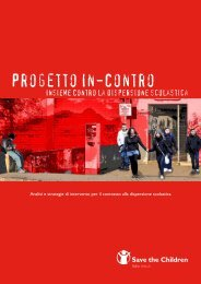 Progetto In-Contro - Save the Children Italia Onlus