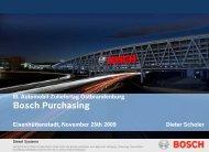 Bosch Purchasing - zuliefertag.de
