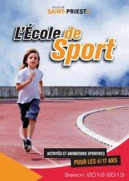 L'École de Sport - Saint-Priest