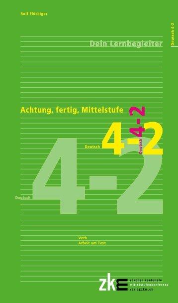 Achtung, fertig, Mittelstufe, Deutsch 4-2