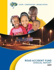 Road Accident Fund(RAF) 2008/2009 Annual Report