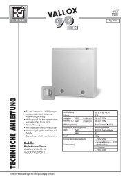 vallox kwl 090sc - Heinemann GmbH