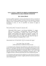 ROBERTO BRONZINI – LORENZO VITALI - Aodv231.it