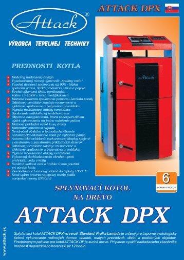 Attack DPX - kotle na drevo (.pdf) - SOLARsystems
