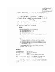 Standarde de codificare a procedurilor ICD-10-AM - DRG
