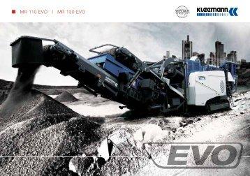 MR 110 EVO l MR 130 EVO - Kleemann