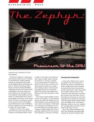 The Zephyr:
