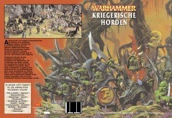 Kriegerische Horden - Axes of Aix - Warhammer in Aachen