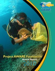 Annual Report Project AWARE Foundation