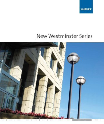 New Westminster Series - Architectural Lighting Associates (ALA, Inc.)