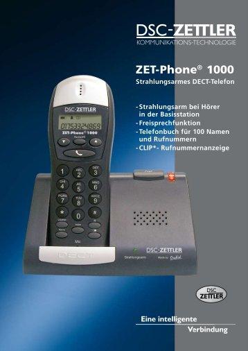 ZET-Phone® 1000 - allnetstore.de