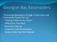 Georgian Bay Bassmasters