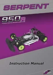Instruction Manual - Ashford Hobby