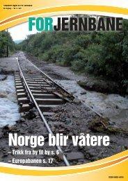 – Trikk fra by til by s. 6 – Europabanen s. 17 - For Jernbane