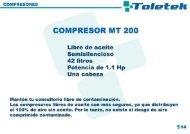 COMPRESOR MT 200 - promosa dental
