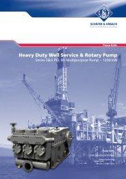 Heavy Duty Well Service & Rotary Pump - Woma