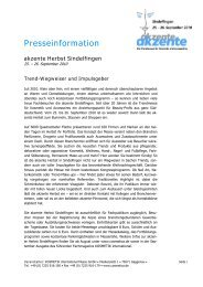 Vorabakkreditierung zum Messebesuch der - KOSMETIK international