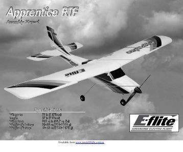 Apprentice RTF - RC World