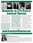 ONE Saratoga Movement is Setting the Pace - Saratoga County ... - Page 2