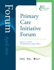 April 21 – 22, 2010 e Deerfoot Inn, Calgary, Alberta - Primary ...