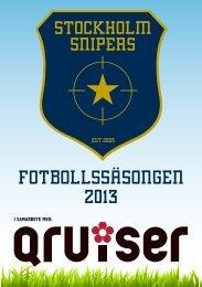 STOCKHOLM SNIPERS - Qx