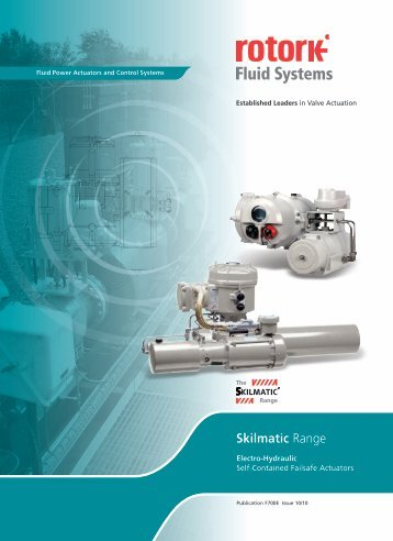 Skilmatic Electrohydraulic Actuator - Nooney Controls Corp.