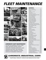 FLEET - CHROMATE - Chromate Industrial Corporation
