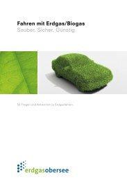 Fragen und Antworten zum Thema Fahren mit Erdgas/Biogas