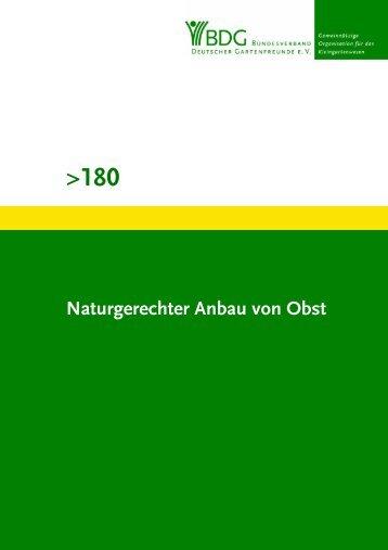 180 - Bundesverband Deutscher Gartenfreunde e. V.