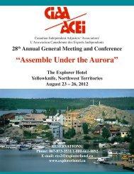 Delegate Registration - Canadian Independent Adjusters' Association