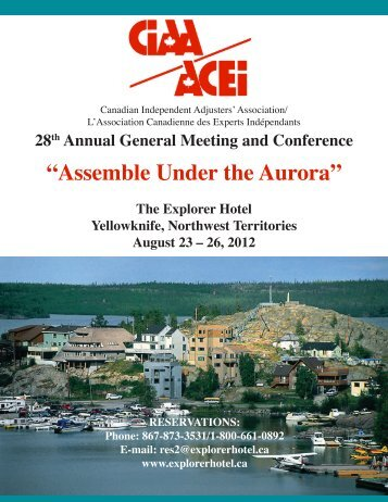 Delegate Registration - Canadian Independent Adjusters' Association