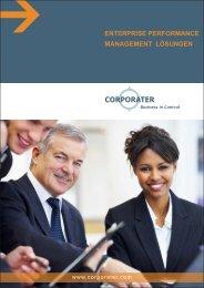 enterprise performance management lösungen - Corporater
