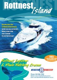 Rottnest Explorer & Whale Watching Cruises Rottnest Explorer ...