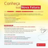 Nova Fatura - Santander