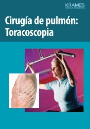 Cirugía de pulmón: Toracoscopia - Veterans Health Library