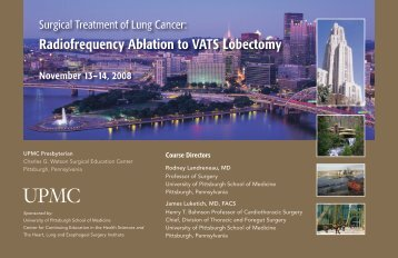 Radiofrequency Ablation to VATS Lobectomy - CCEHS