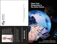 Open Your Dealership to the Entire World... - Sales Training Store