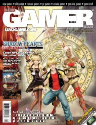 Volume 1 Issue 10 April 2006 Shadow Hearts - Hardcore Gamer