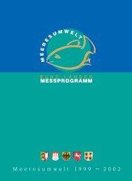 Zustandsbericht 1999 - 2002 für Nordsee und Ostsee - BLMP Online