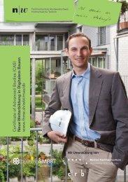 Broschüre CAS Digitales Bauen - Fachhochschule Nordwestschweiz