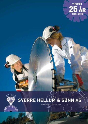 25 ÂR - Sverre Hellum & Sønn AS