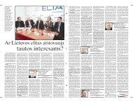 Ar Lietuvos elitas atstovauja - Respublika.lt