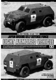 Tamiya Light Armored Vehicle Manual - Wheelsacademy.info