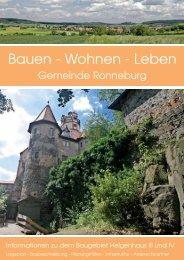 Bauen - Wohnen - Leben - Gemeinde Ronneburg