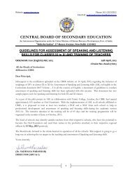 Guidelines For Assessment Of Speaking And Listening ... - CBSE
